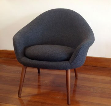 Restored Danish chair