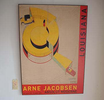 Arne Jacobsen – Flemming Lassen Poster