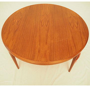 Danish round teak coffee table SOLD