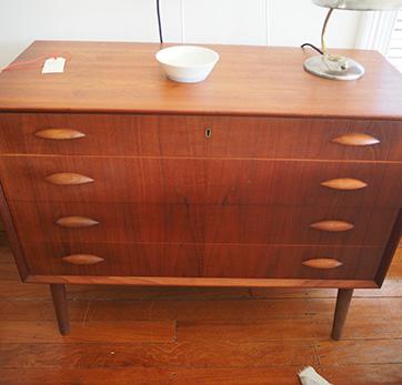 Treak chest of drawers