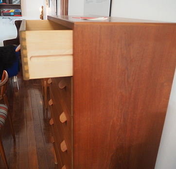 Poul Volther teak chest of drawers SOLD