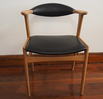 Danish oak chair