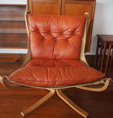 Sigurd Ressel Falcon chair $ 1450