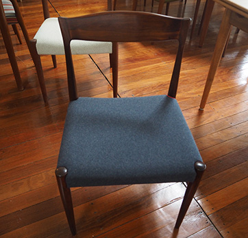 Set of 8 Rosewood dining chairs