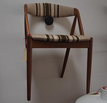 6 Kai Kristiansen teak dining chairs