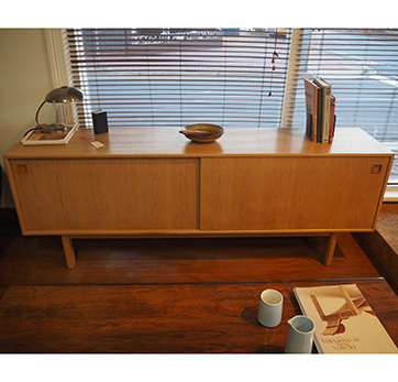 Omann Jun oak sideboard SOLD