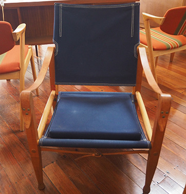 Kaare Klint Safari Chair $ 990