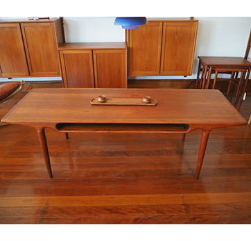 Danish – Teak Coffee table. $ 1200