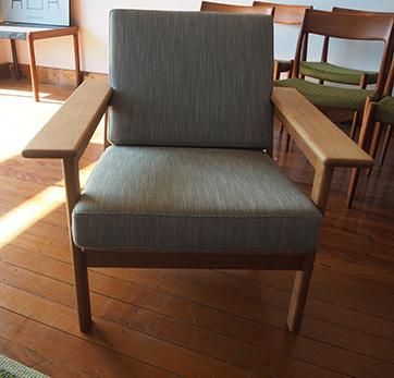 Danish Oak armchair $ 1100