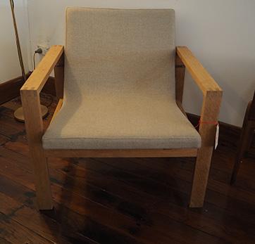 Danish Oak Armchair – $ 800
