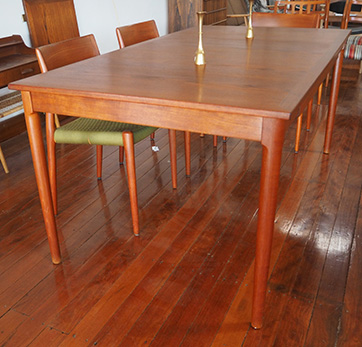 Danish Teak table  $ 1600