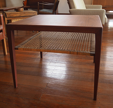 Teak side table $ 650