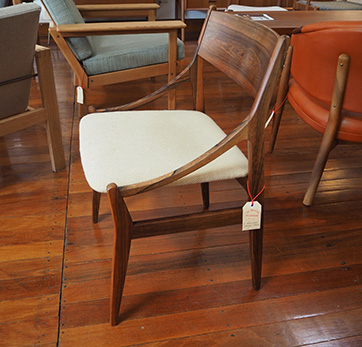Set of 6 Rosewood dining chairs $ 2800