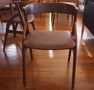 Set of 6 Danish dining chairs $ 2500