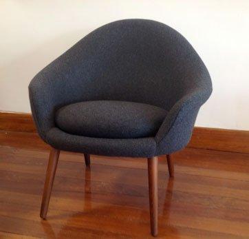 Restored Danish chair