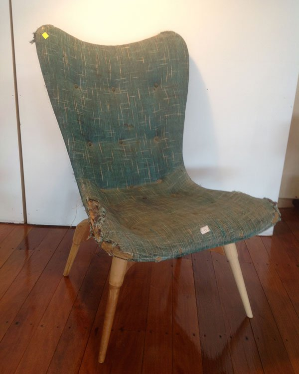 Grant Featherston contour chair - Before shot