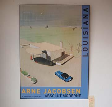 Arne Jacobsen Poster